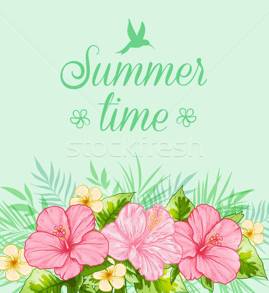 Tropical summer background Stock photo © Artspace