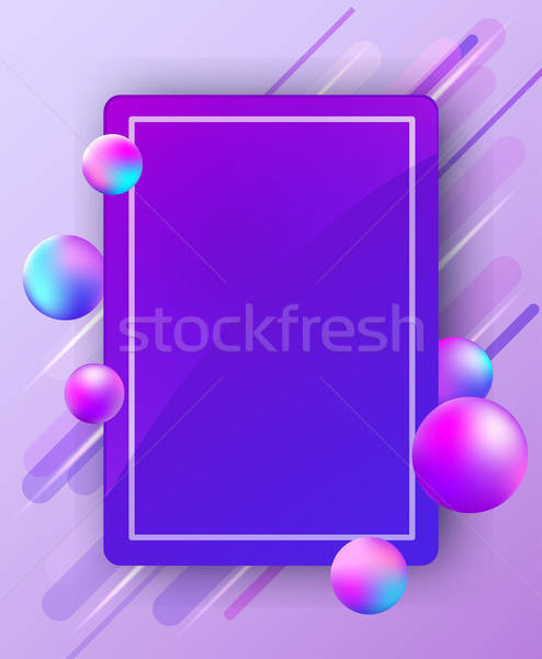 Stockfoto: Abstract · heldere · vector · modieus · vallen