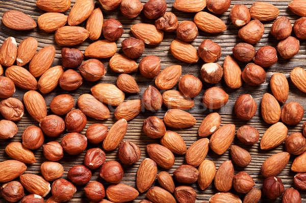 Almond and hazelnut  Stock photo © Artspace