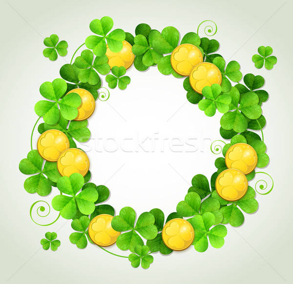 St. Patrick's Day background Stock photo © Artspace