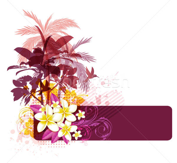 Abstract summer background Stock photo © Artspace