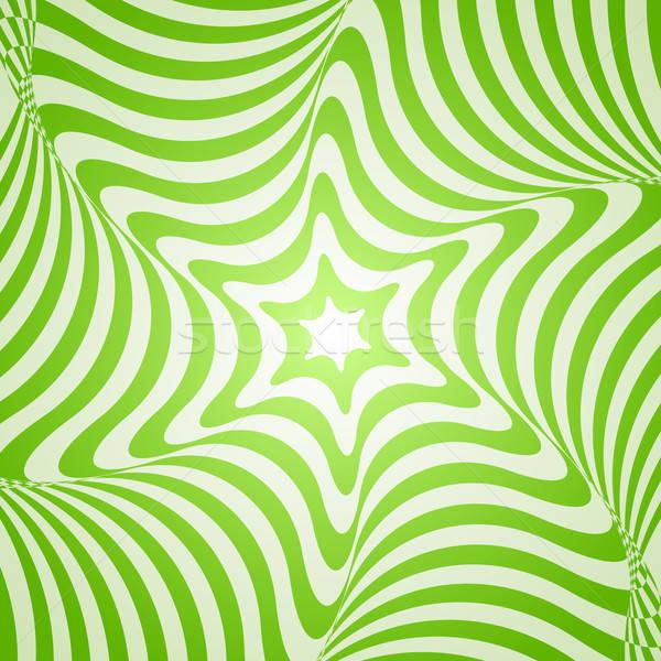 Streszczenie zielone projektu wektora geometryczny Zdjęcia stock © Artspace