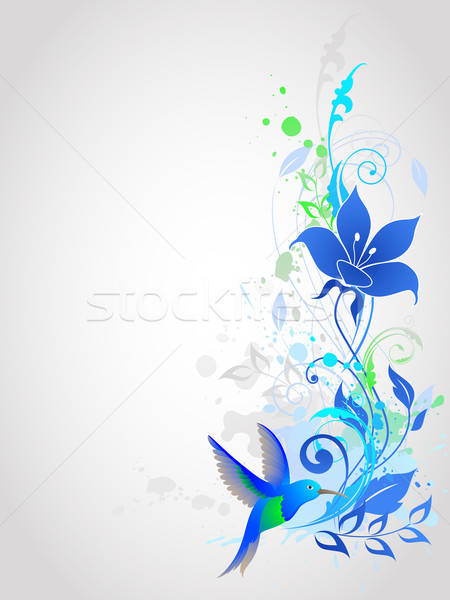 Blue vector  background Stock photo © Artspace