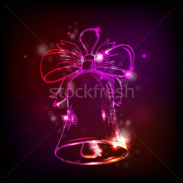 çan Noel vektör dizayn arka plan Stok fotoğraf © Artspace