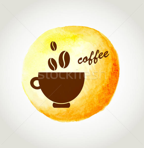 Cup of coffee Stock photo © Artspace
