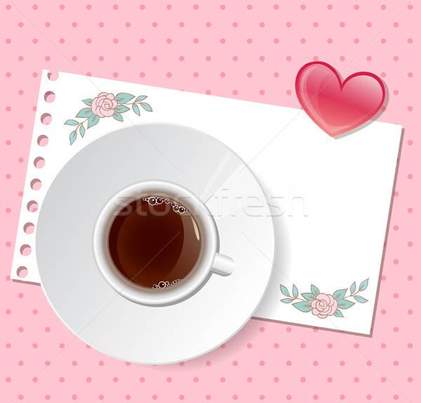 Pink Valentine background Stock photo © Artspace