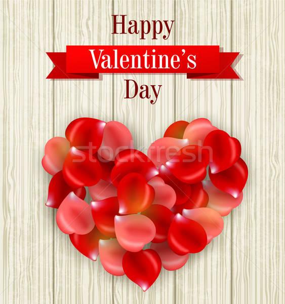 Romantic Valentine card Stock photo © Artspace