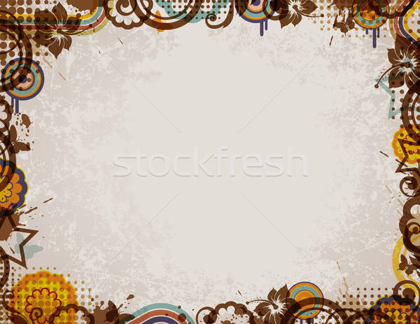 Retro background Stock photo © Artspace