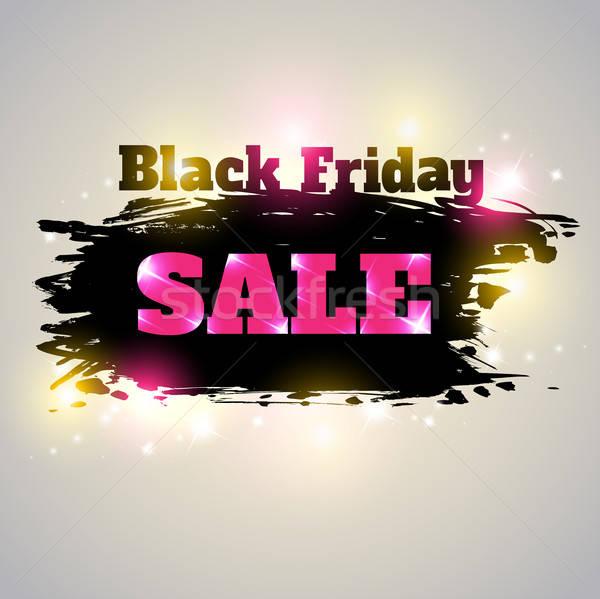 черная пятница продажи аннотация вектора фон Сток-фото © Artspace