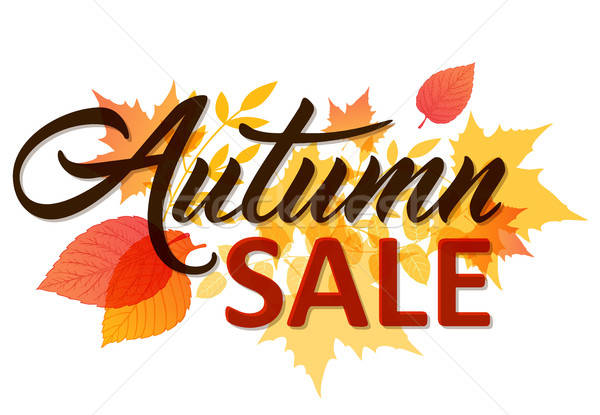 Autumn background for sale Stock photo © Artspace