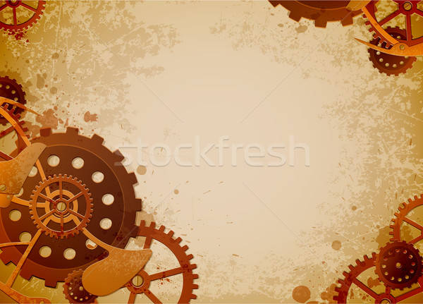 steampunk background Stock photo © Artspace