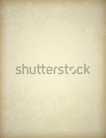Régi papír textúra csíkok vektor klasszikus papír textúra Stock fotó © Artspace