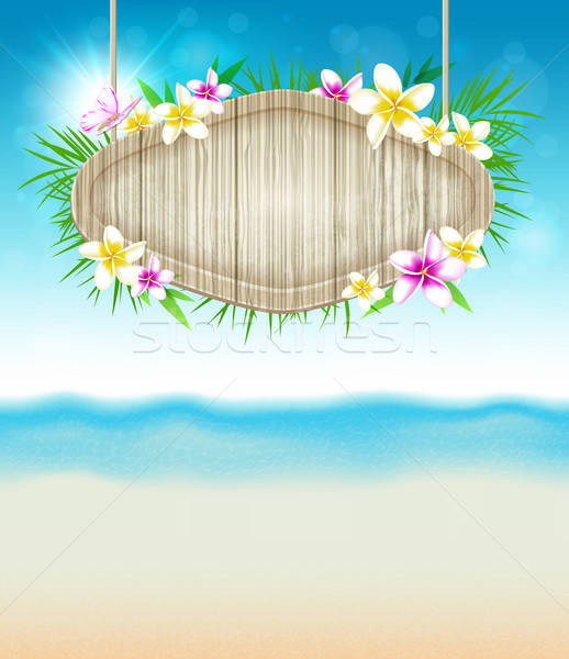 Summer tropical background Stock photo © Artspace
