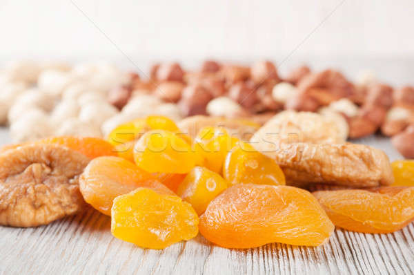 Dried fruits and nuts Stock photo © Artspace