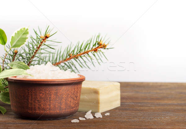 Aromatic bath salt Stock photo © Artspace