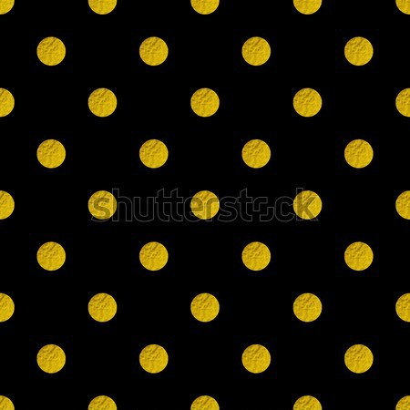Pattern with golden glitter circles Stock photo © Artspace