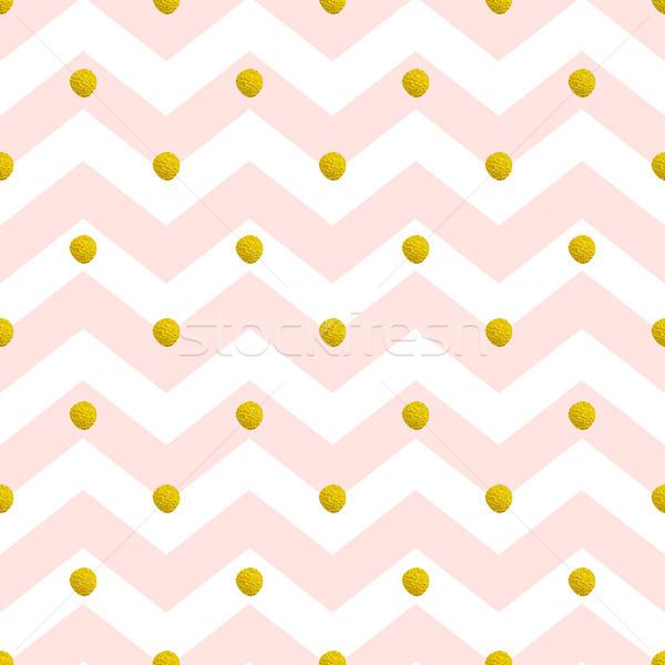 Pink chevron seamless pattern Stock photo © Artspace