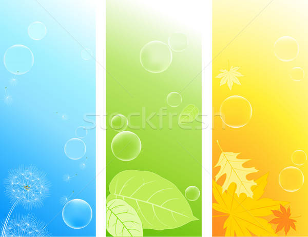 Stock photo: colored nature backgrounds