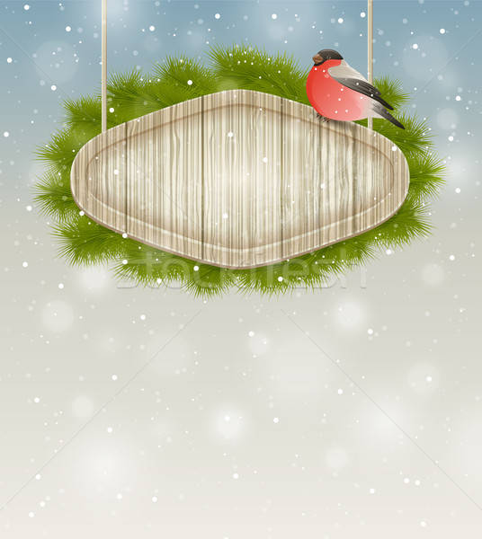 Winter background Stock photo © Artspace