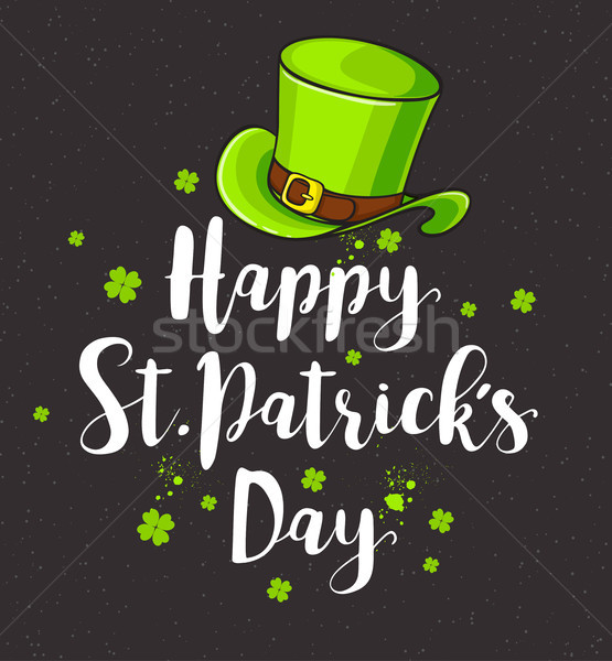 Greeting card for St. Patrick's day. Stock photo © Artspace