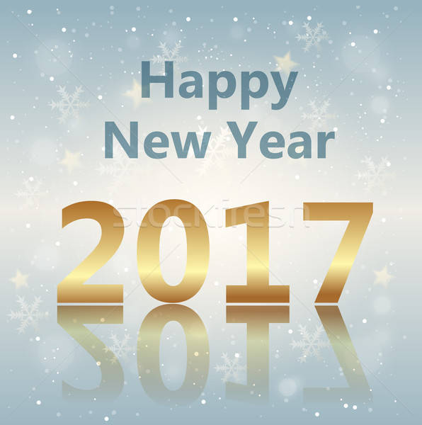 Greeting card for new year Stock photo © Artspace