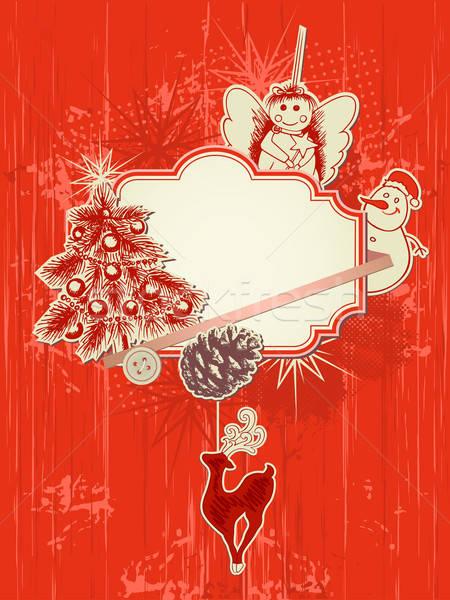 Christmas  background Stock photo © Artspace