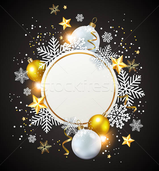 White and golden decorations Stock photo © Artspace