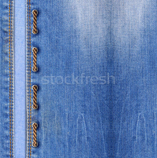 Blue jeans with lacing Stock photo © Artspace
