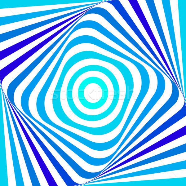 Streszczenie niebieski wektora geometryczny projektu Zdjęcia stock © Artspace