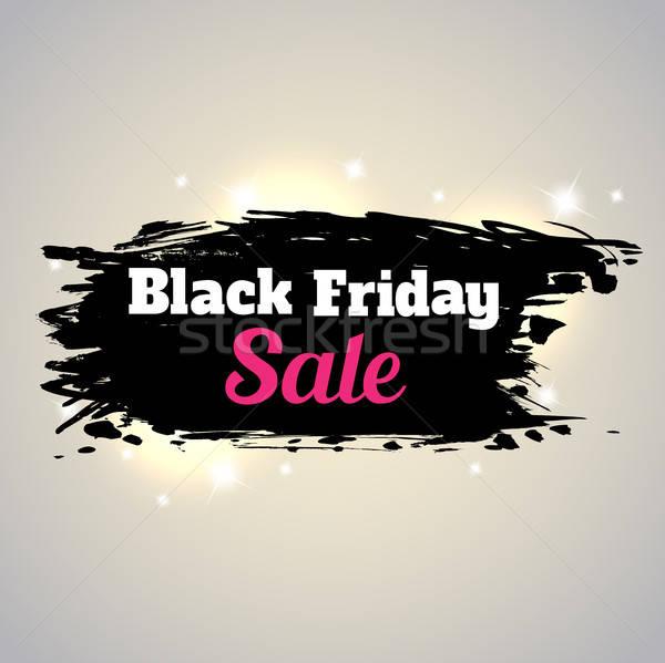 черная пятница продажи аннотация фон черный Сток-фото © Artspace