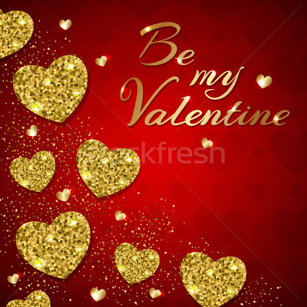 Greeting card for Valentine's day. Stock photo © Artspace