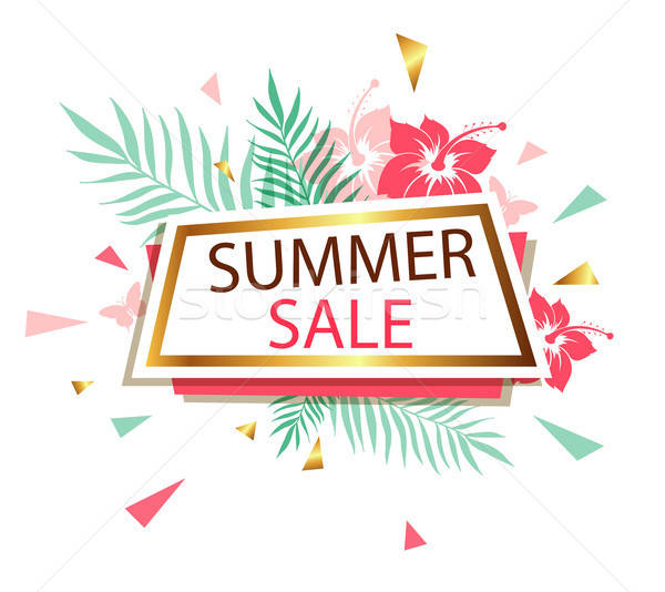 Banner for summer sale Stock photo © Artspace