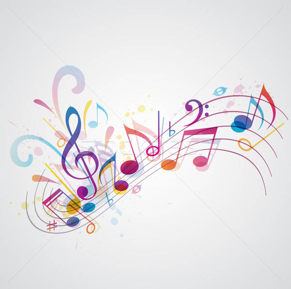 Music background Stock photo © Artspace