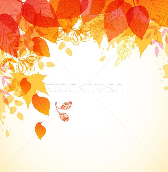 Abstract autumn background Stock photo © Artspace