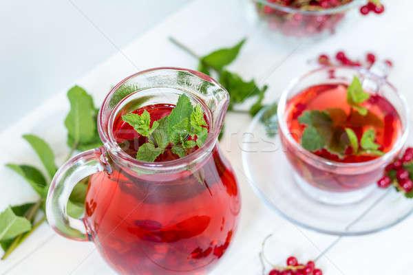 Сток-фото: пить · прозрачный · стекла · Кубок · ваза
