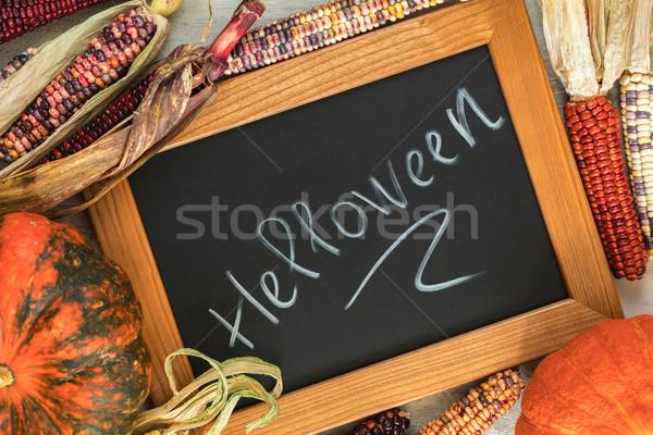 Férias halloween indiano milho bombear Foto stock © artsvitlyna