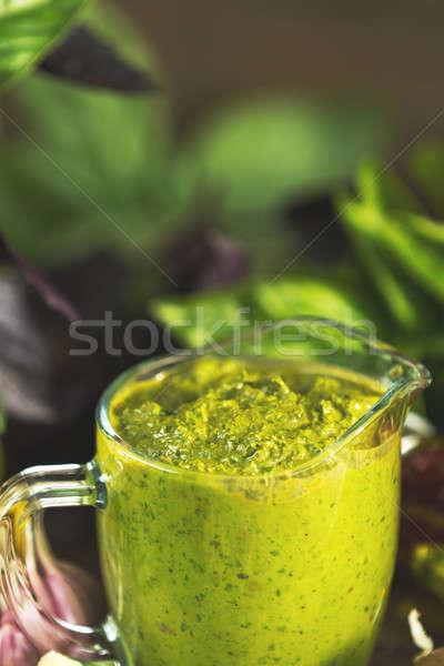 Сток-фото: свежие · домашний · соус · продовольствие