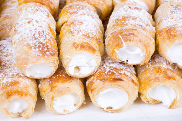 Tube neige sweet cookies traditionnel Photo stock © artush