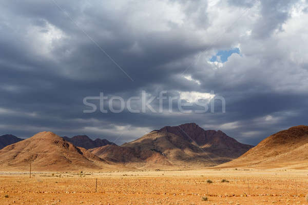 fantastic Namibia desert landscape Stock photo © artush