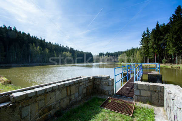 small water reservoir Stock photo © artush