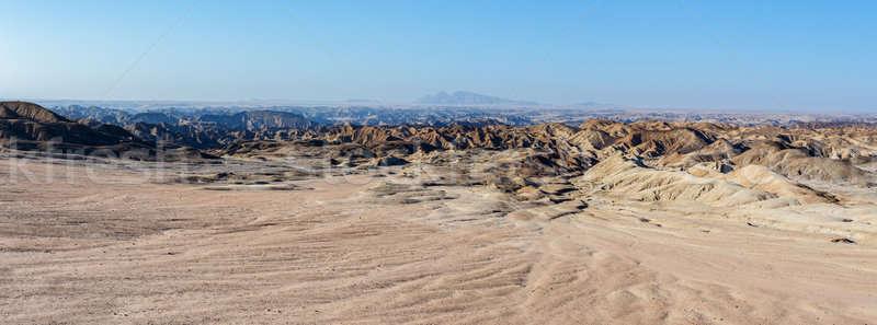 Namíbia tájkép régió út háttér nyár Stock fotó © artush