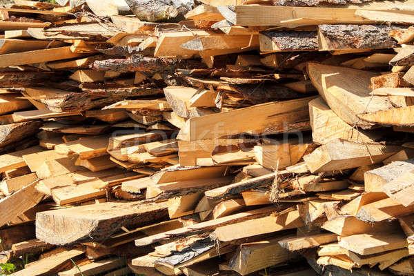 the firewood Stock photo © artush