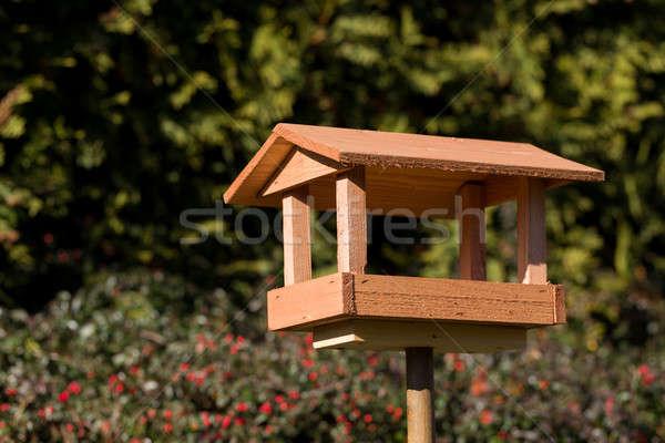 simple bird feeder Stock photo © artush