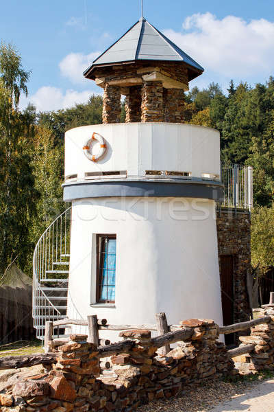 lighthouse for childs play in park Stock photo © artush