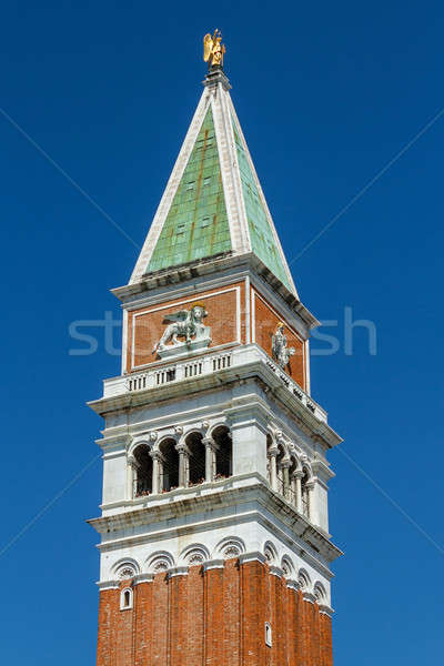 Stock photo: St Marks campanile in Venice