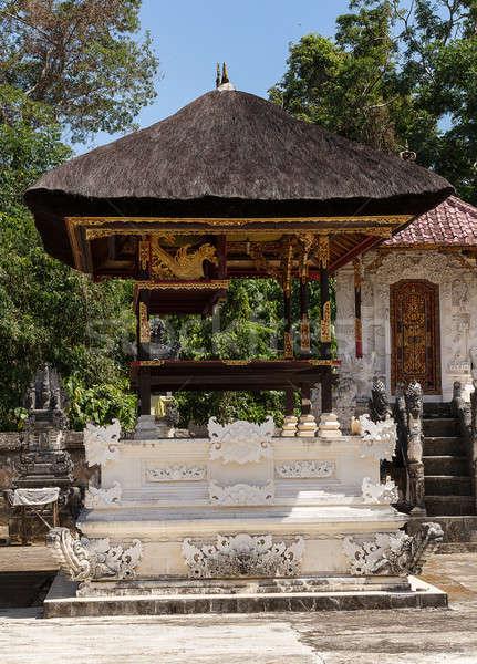 Tapınak bali Endonezya bir üç Bina Stok fotoğraf © artush