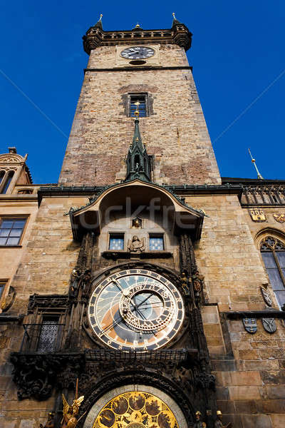 Prague Astronomical Clock -Prague Orloj Stock photo © artush