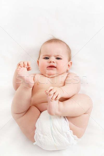にやにや 赤ちゃん 最初 年 新生活 ストックフォト © artush