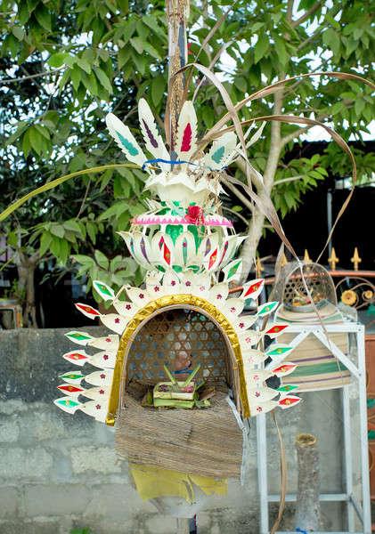 традиционный Бога построить дома Бали острове Сток-фото © artush