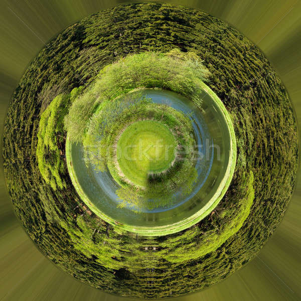 Piękna lata malutki planety mały Zdjęcia stock © artush